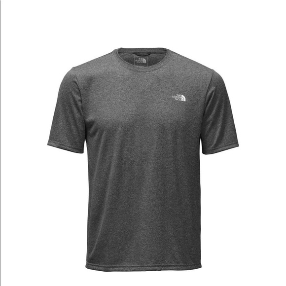 a5559f70b The North Face Gray Polyester T Shirt w/vapor wick